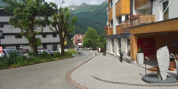 Start in Bad Hofgastein (859 m)