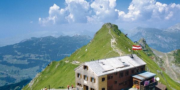 Wormser hut on 2307 m