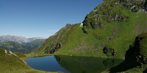 View to Lake Schwazsee