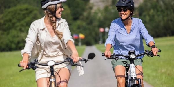 Der Startpunkt von der Liechtenstein-Weg E-Bike Tour ist in Balzers