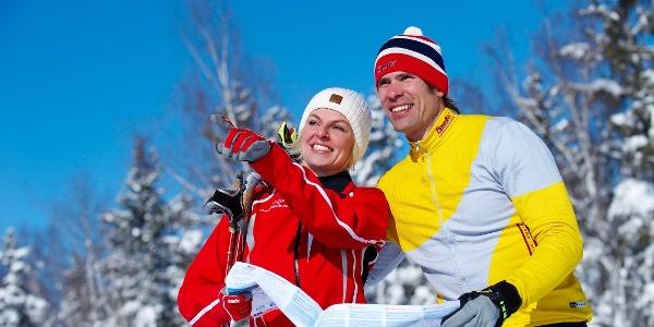 Langlaufspaß in Oberstaufen