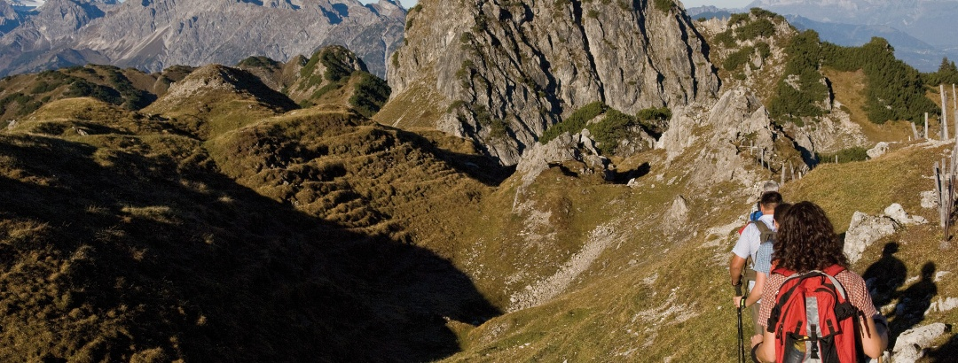 Auf dem Weg zum Itonskopf (2089 m)