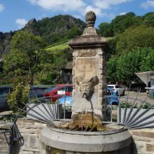 Brunnen am Ziepchesplatz