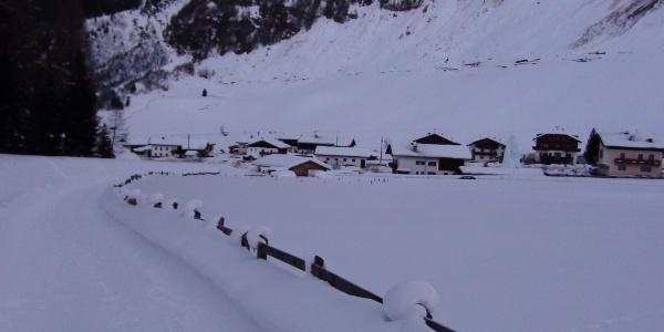 Austieg von Toldern 1.462 m