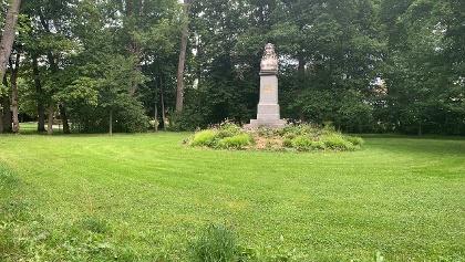 Denkmal für den fränkischen Lyriker Friedrich Rückert in Coburg