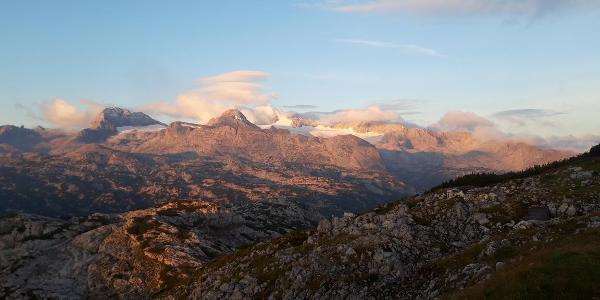 Sonnenaufgang am Krippenstein