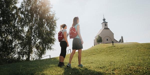 Wandern Wolfgangi Kirche