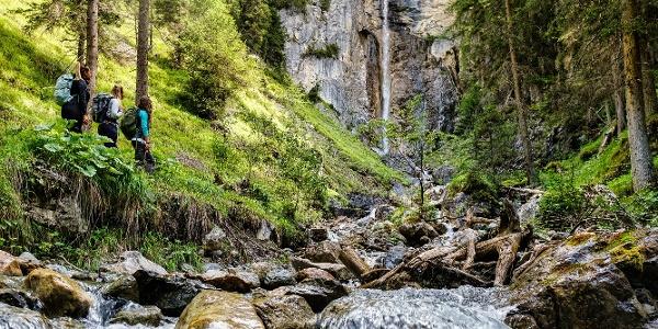 Litzirüti Wasserfall_Schanfigger Dörferweg