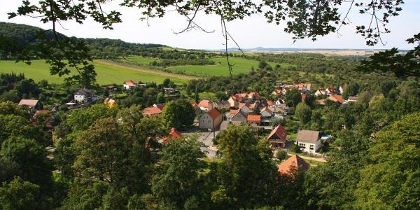 Blick über Stecklenberg