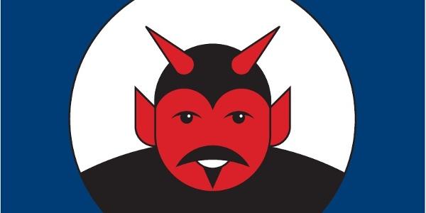 Teufelstein-Piktogramm