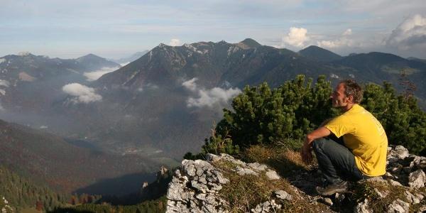 Gipfelblick am Spitzstein