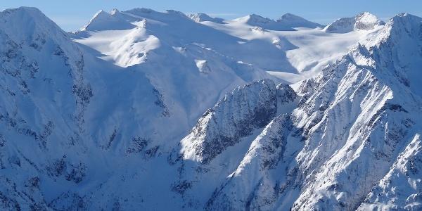 Il ghiacciaio del Pisgana