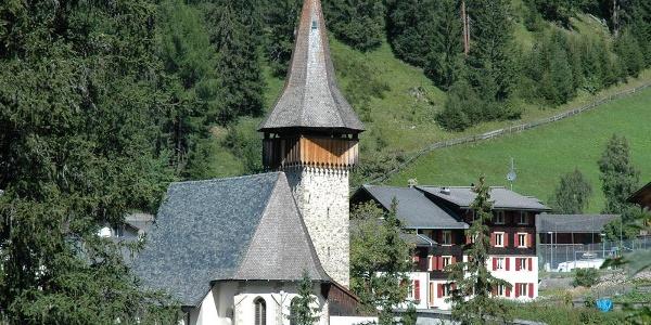 Die Kirche von Langwies