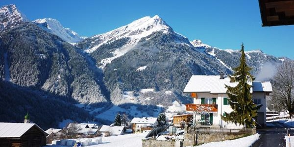 Winter in St Gallenkirch