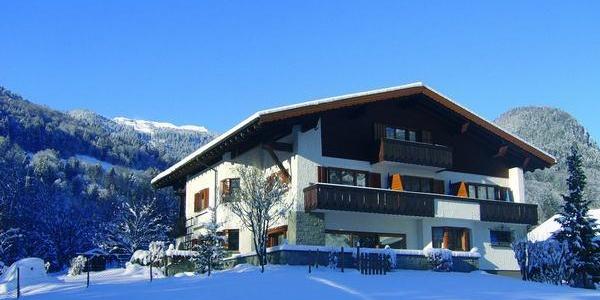 Landhaus Schneider, Winter