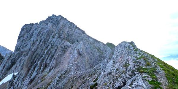 Blick zur Pfeiserspitze