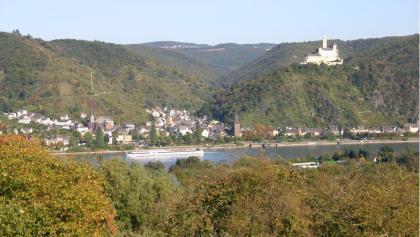 Blick über Braubach nach Becheln