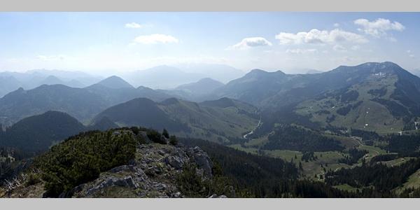 Das 360°-Panorama von der Käserwand