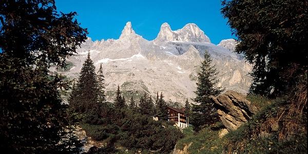 Drei Türme mit Lindauer Hütte