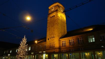 Badischer Bahnhof: Drehscheibe der Region