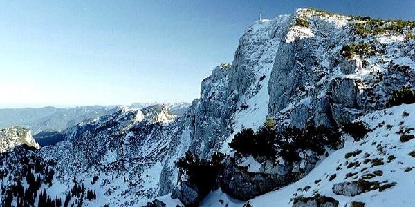 Nordwand der Benediktenwand