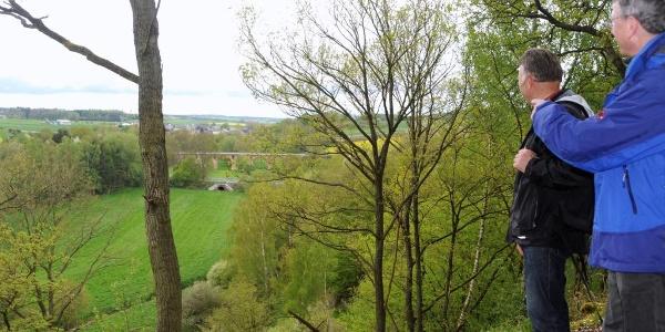 Blick auf das Viadukt bei Nieder Kostenz