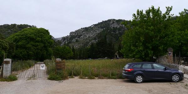 Parkplatz von S'Almedrà