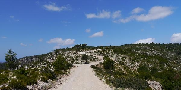 Auf dem Weg zur Serra de na Burguesa