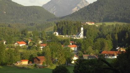 Blick von Jachenau auf den Herzogstand