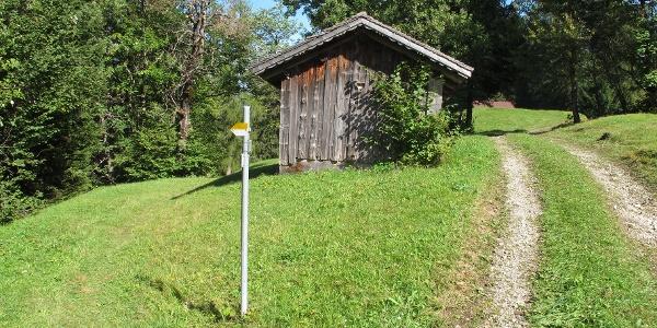 Wiesweg zwischen Raggal und Ludescherberg