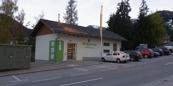 Information point, village of Rohrmoos