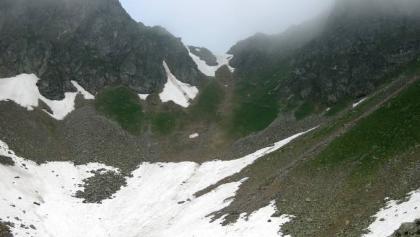 Steig zur südlichen Moserscharte