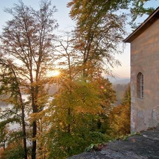 Kloster Wernberg - Blick auf Drauschleife