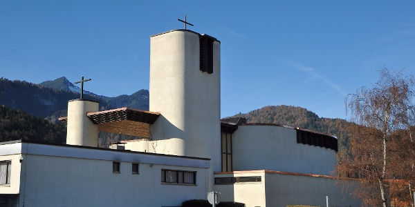 Bürs, Pfarrkirche Maria Königin des Friedens