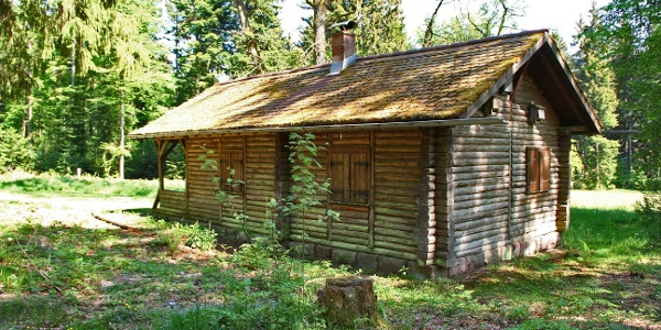 Pflanzengarten-Hütte