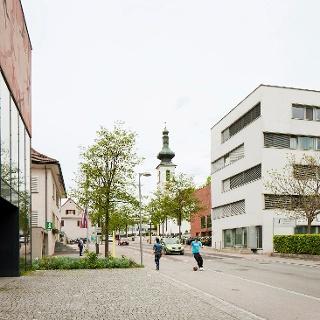 Design of the village centre, Lochau