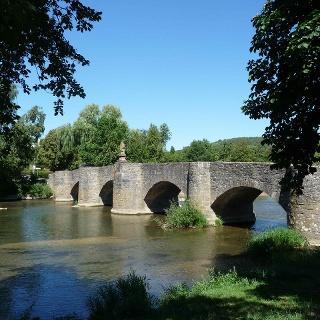 Brücke von Balthasar Neumann in Tauberrettersheim