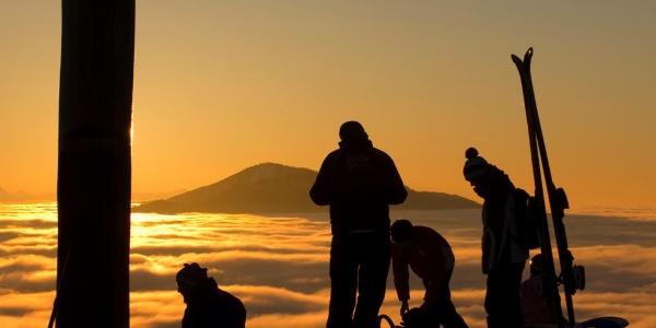 Skitour Hörnle - Zeitberggipfel