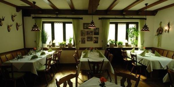 Innenraum des Gasthaus zum Karpfen