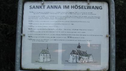 St. Anna Geschichte