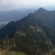 Vom Gipfel Heimgarten zum Herzogstand