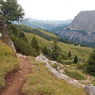 Auf dem Kolfuschger Höhenweg