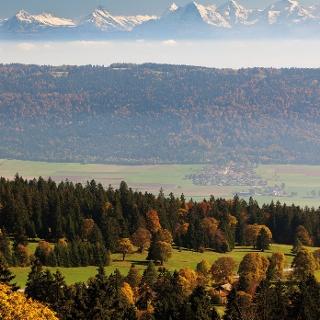 Jura und Alpen