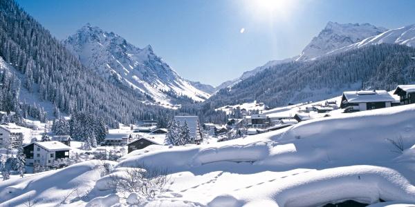 Winterwandern in Gargellen
