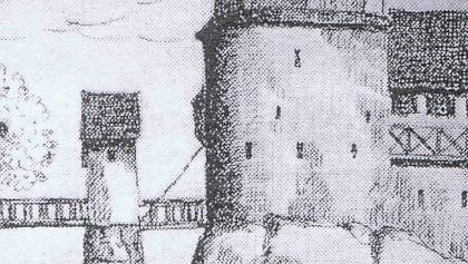 Schänzle am Turm historisch