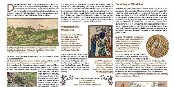 Thementafel Burgruine Bielriet, Cröffelbach