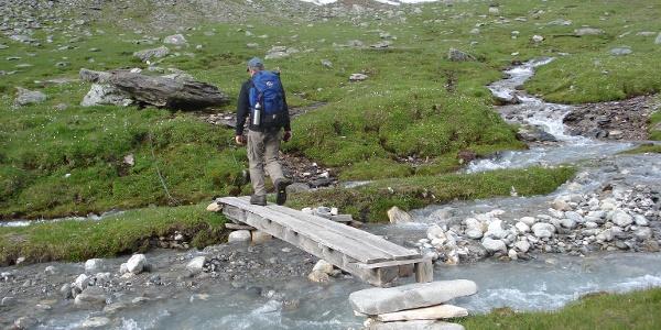 Stegübergang beim Schanilbach