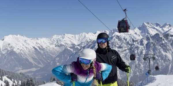 Die moderne Zweiländer-Skiregion