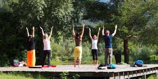 Yoga Energieplatz Kampler See