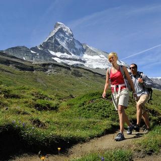 Randonnée le long du Matterhorn Trail